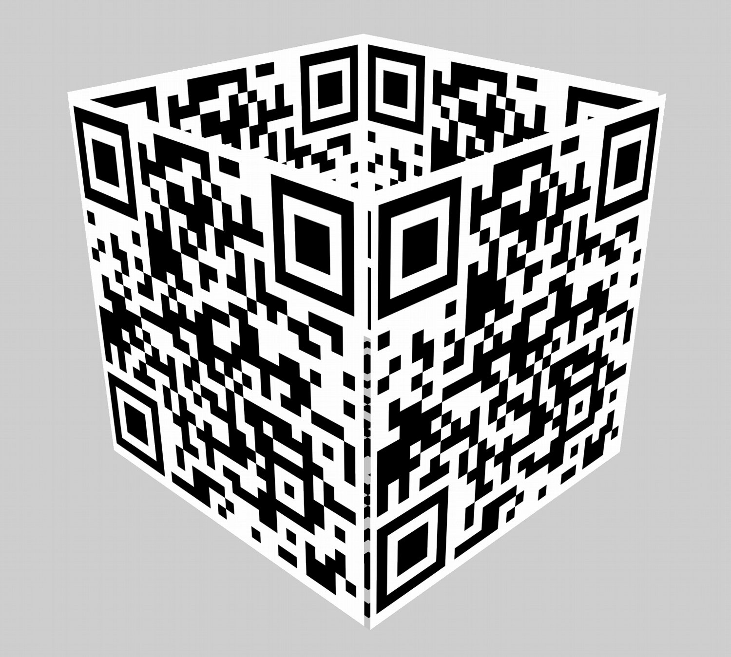 - My first attempt at a QR cube. -  - Art and the Zen of QR Codes - QaRt - making art from QR codes. - Tony Karp, design, art, photography, techno-impressionist, techno-impressionism, aerial photography , drone , drones , dji , mavic pro , video , 3D printing - Books -