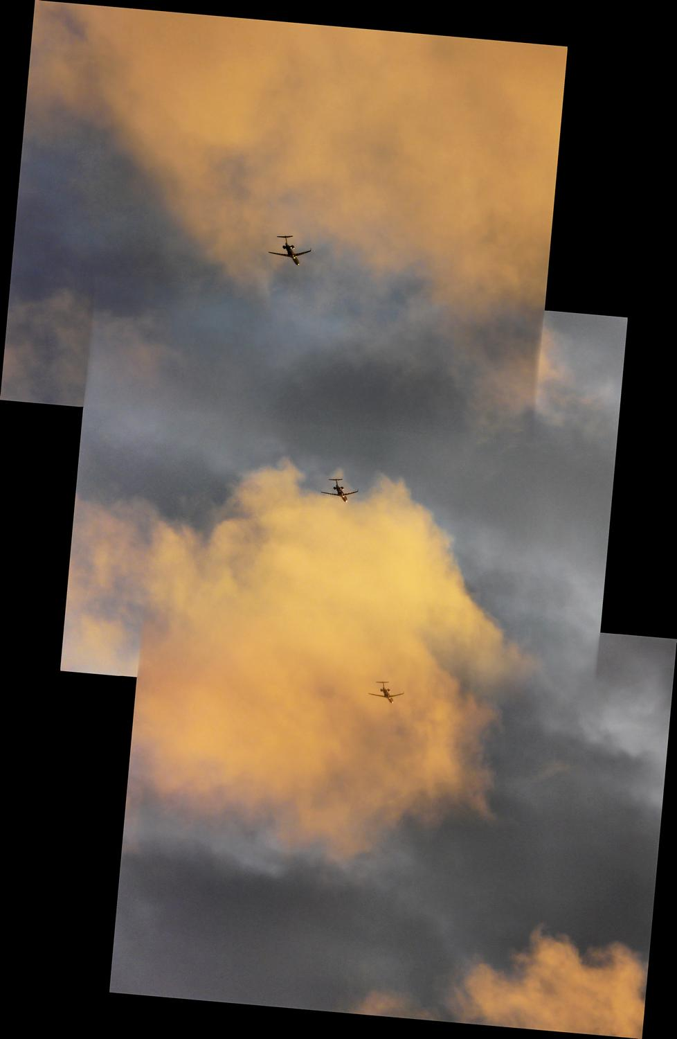 Sky planes panorama of a sky train - The DMC-FZ18, a sunset,  and a glass of beer - Tony Karp, design, art, photography, techno-impressionist, techno-impressionism, aerial photography , drone , drones , dji , mavic pro , video , 3D printing - Books -